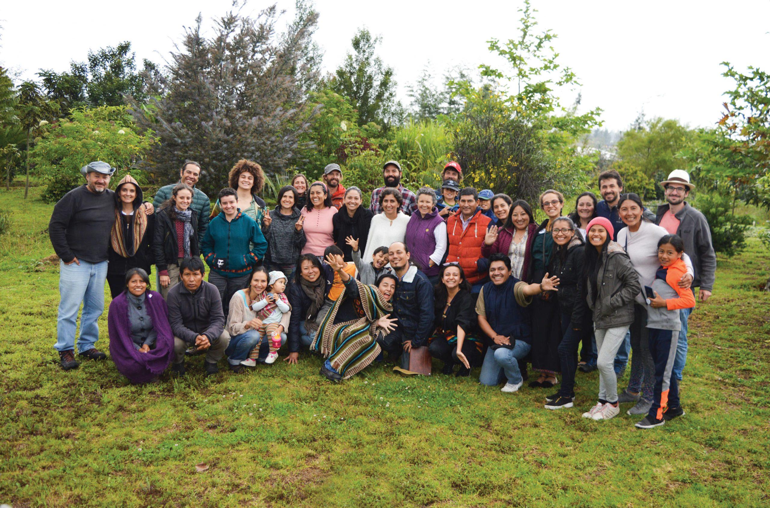 Familias que se unen por la regeneración ecológica y social
