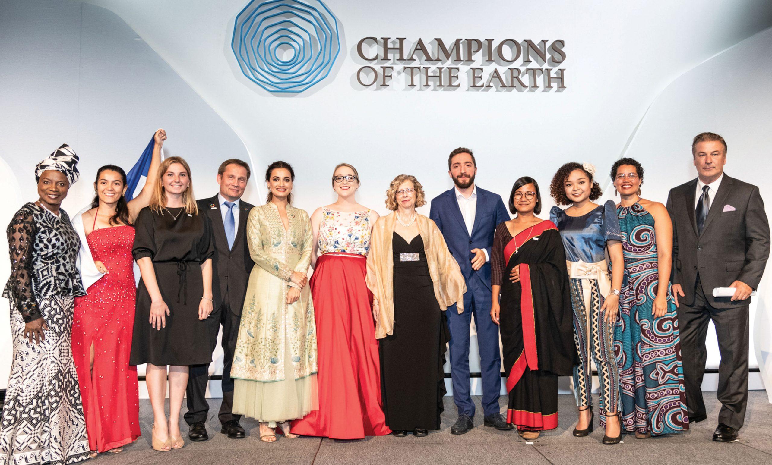 Jóvenes Campeones de la Tierra