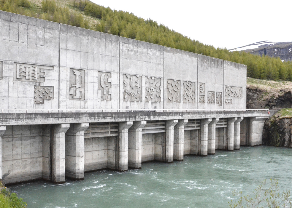 Burfell hydropower station