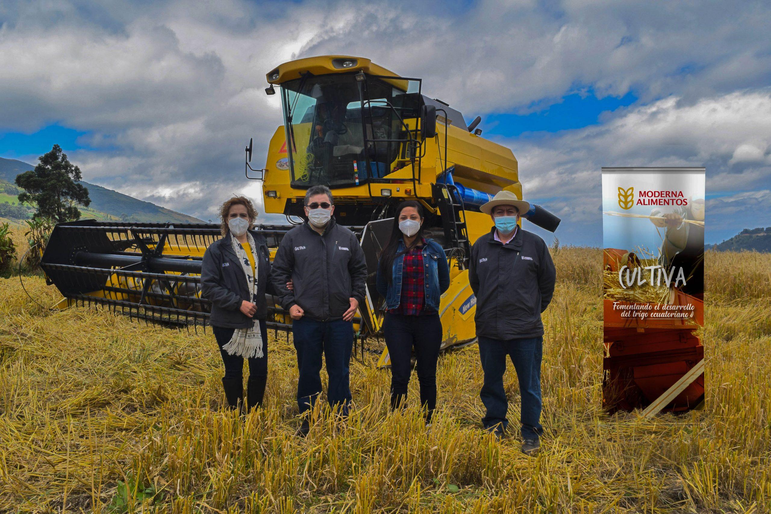"""El """"Programa Cultiva"""" de Moderna Alimentos fomenta la producción de trigo nacional"""