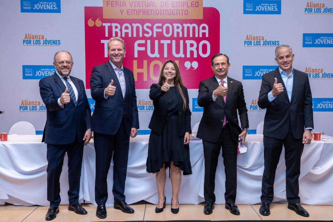 Feria Virtual Transforma tu Futuro Hoy busca apoyar a los jóvenes en su inserción al mercado laboral