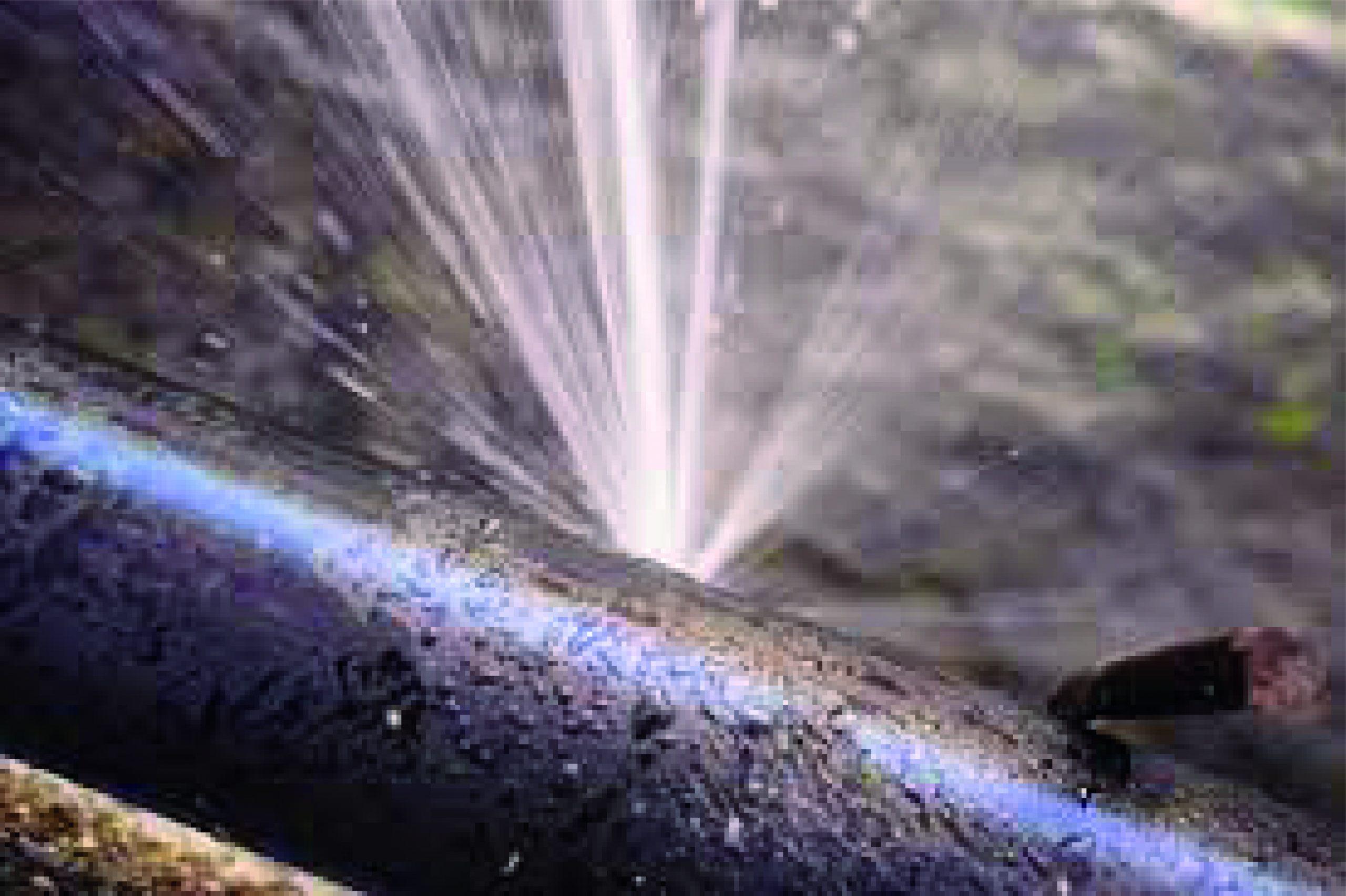El desperdicio de agua por la mala instalación de tubería